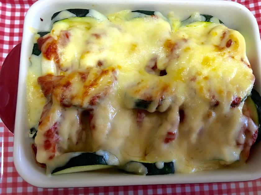 簡単美味しいな野菜と海老のチーズ焼き