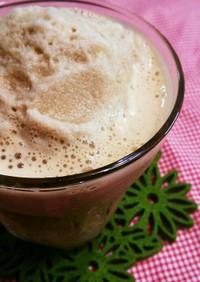 コーヒー味のミルクセーキ
