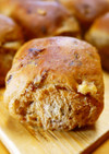 レーズンくるみ黒糖ちぎりパン(HB生地)