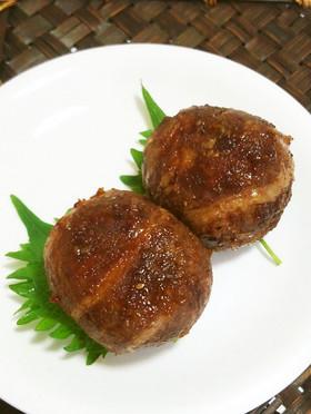 梅入り✾焼き肉巻きおにぎり