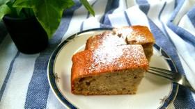 アマランサスとバナナのケーキ