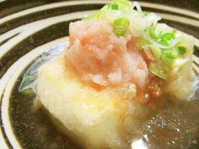 ✿梅づくし✿さっぱり爽やか揚げ出し豆腐