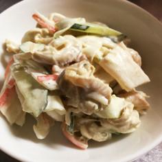 稚貝(ベビーホタテ)のサラダ