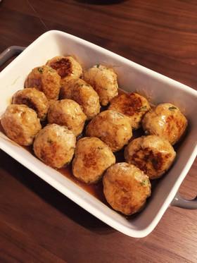 えのきで量増し☆麺つゆで和風ハンバーグ☆