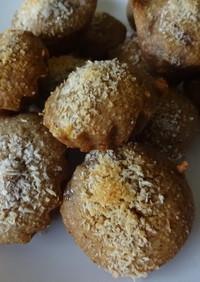 小さな焼き菓子♪ライ麦粉のバナナケーキ