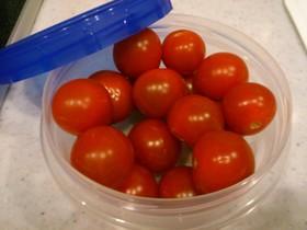 ミニトマトの保存(長持ち)方法