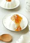 甘酸っぱ~い♡梅のお豆腐レアチーズケーキ