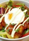 お弁当に♬簡単♥️唐揚げ丼*特製タレ