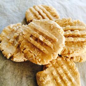 米粉とバナナのカリもちっクッキー