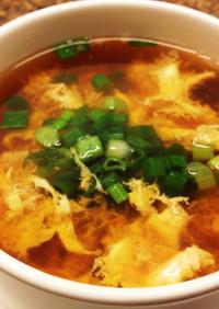 時短☆簡単☆カニ缶でカニ玉スープ♪