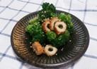 ブロッコリーと竹輪のゴマ油和え☆お弁当◎