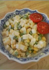 フルーツ味のポテトサラダ(アメリカ版)