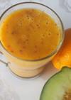 デトックス!メロン味オレンジスムージー