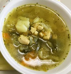 野菜のカレースープ
