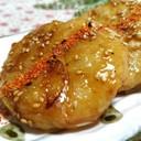 素麺救済!! 素麺もち~照り焼きダレ~