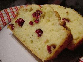 クランベリー☆バターケーキ