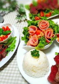 トマトとバジルのココットカマン