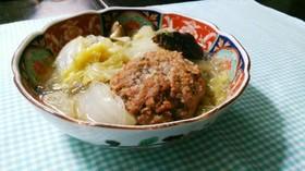 ⅲ肉団子と白菜のスープ