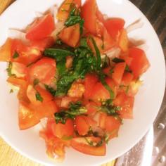 トマトと青じそのノンオイルドレッシング