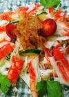 ☆かにかまと中華クラゲのさっぱりサラダ