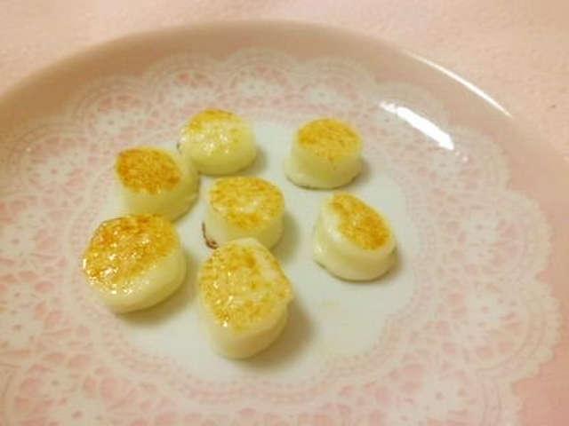 焼くだけ☆さいておいしいモッツァレラ* by melonty