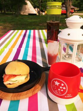 キャンプ飯★ニトスキでコストコパンサンド