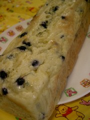 お豆腐のフンワリ水玉ケーキの写真