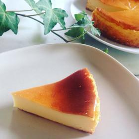 簡単♡生クリーム無しベイクドチーズケーキ