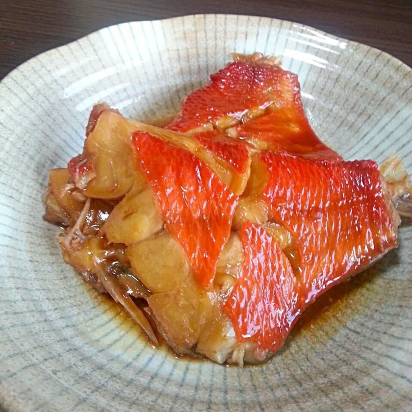 調味料3つで初めてでも簡単金目鯛の煮付け