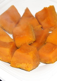 南瓜の蜂蜜煮