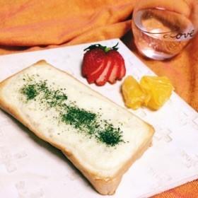 塩レモンマヨソースのトースト