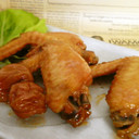 鶏手羽先の梅照り煮