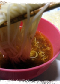 我が家の定番♪簡単☆素麺つゆ(つけ汁)