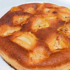 簡単りんごのヨーグルトケーキ