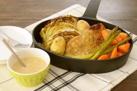 妊娠、授乳に!野菜とチキンのオーブン焼き