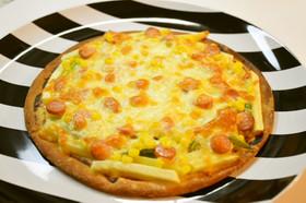 生塩糀マヨのミックスピザ