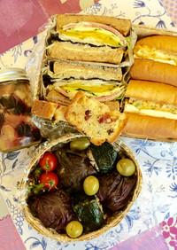 一式ご紹介♡初夏の爽やかピクニック弁当