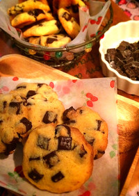 簡単  チョコチップクッキー
