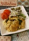 鶏ささ身の胡麻海苔チーズ焼き