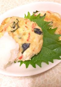 豆腐で簡単♪絶品!ふわふわカニツナバーグ