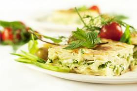 トルコ風チーズのラザニア(ス・ボレイ)
