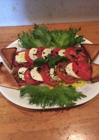 トニオ風モッツァレラとトマトのサラダ