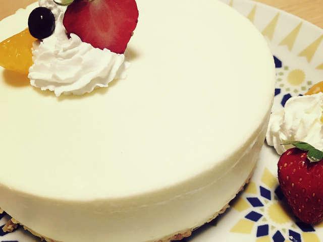 簡単 クリーム チーズ ケーキ