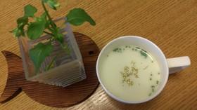 簡単☆ブロッコリーの牛乳スープ☆