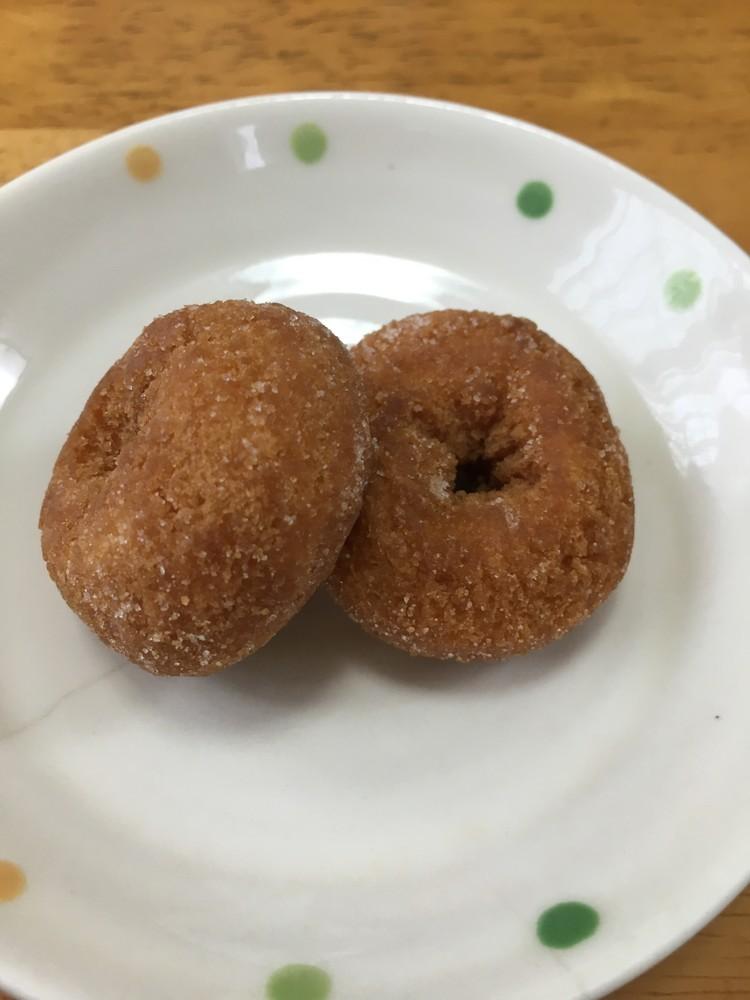 美味しい簡単ミニドーナッツ