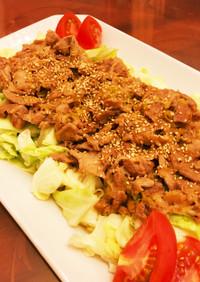 豚肉の簡単(^O^)スタミナ焼き