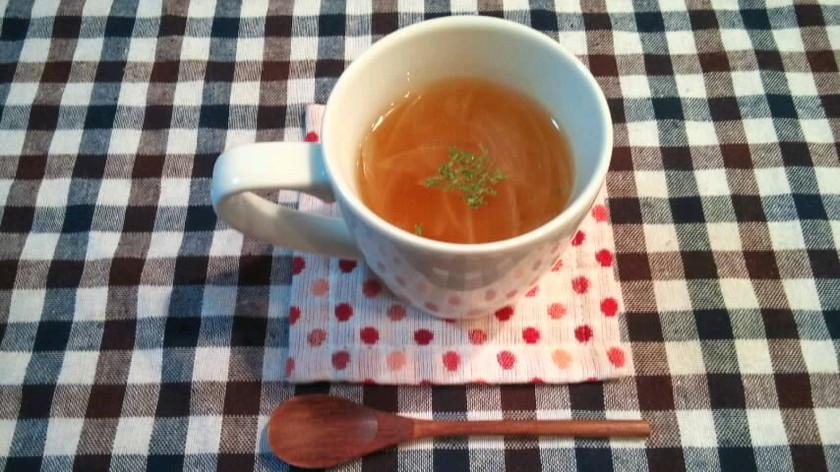 超簡単!新玉ねぎのスープ♪