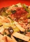 小松菜のあんかけカリカリ焼きそば