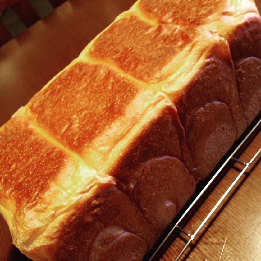 時短シンプル2斤食パン (半量で1斤も)