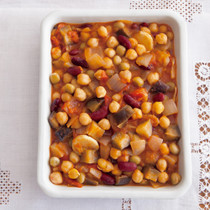 お豆のラタトゥイユ
